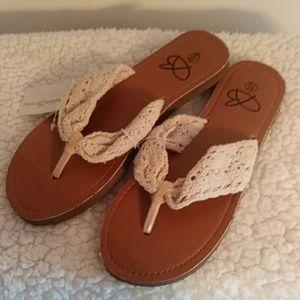 Shoes - Boobie Brooks Flip Flops